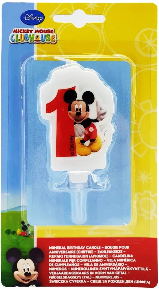 Sviečka Mickey č.1