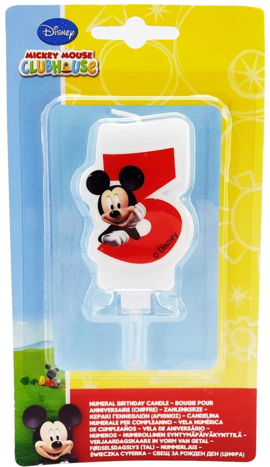 Sviečka Mickey č.3