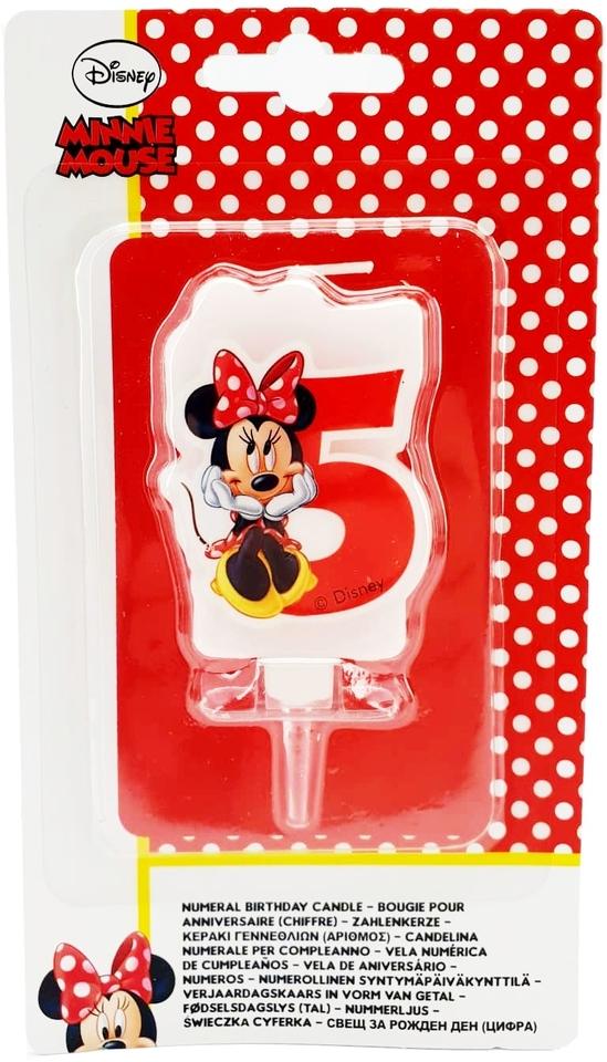 Sviečka 5 Minnie