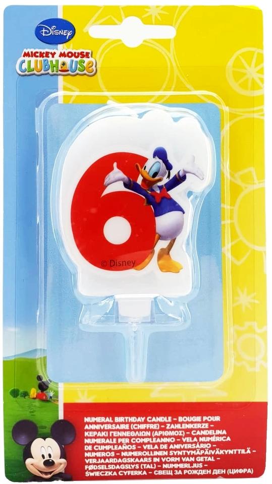 Sviečka Mickey č.6