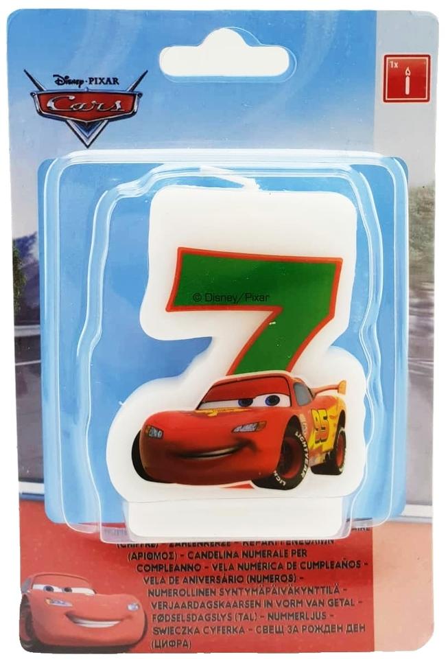 Sviečka 7 Cars