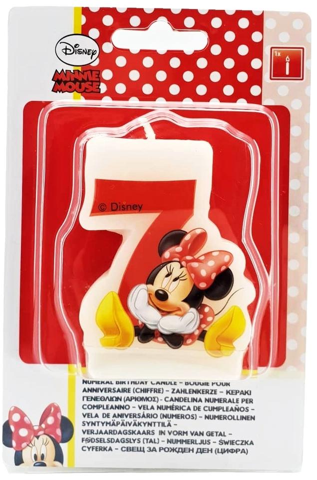 Sviečka 7 - Minnie