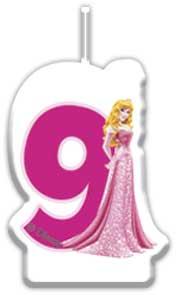 Sviečka Princezné č. 9