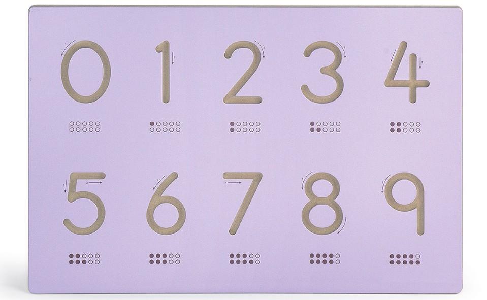 Viga drevená tabuľa čísla 60x40cm