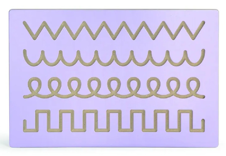 Viga Tabuľa drevená kreslenie vzorov
