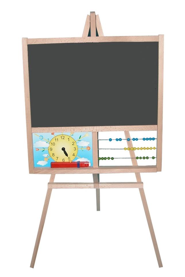 Tabuľa školská s hodinkami