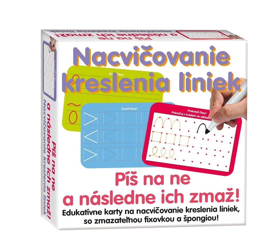 Stieracia tabuľa linky / písmená / čísla 16ks - písmená