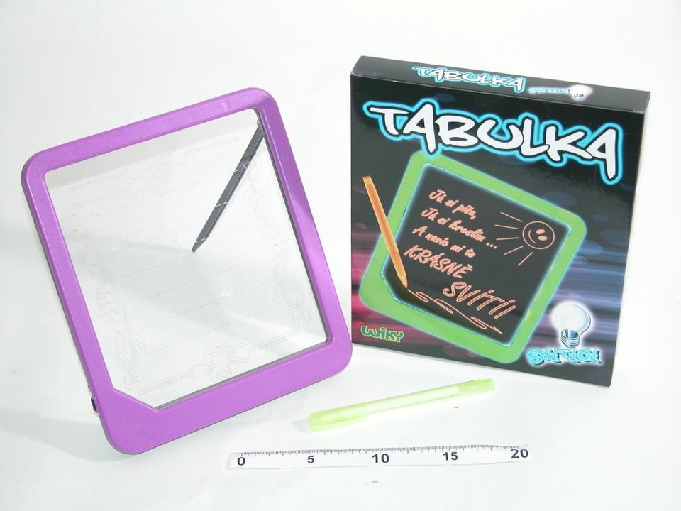 Tabuľka svietiaca 3Xaa 1,5V