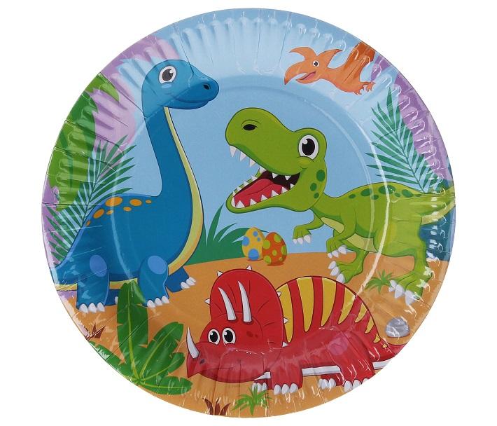 Taniere dinosaurusy 6ks/23cm