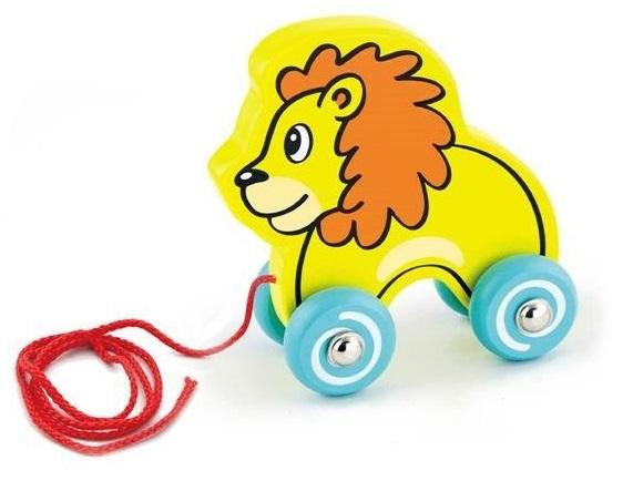 Viga Ťahačka drevená Lev