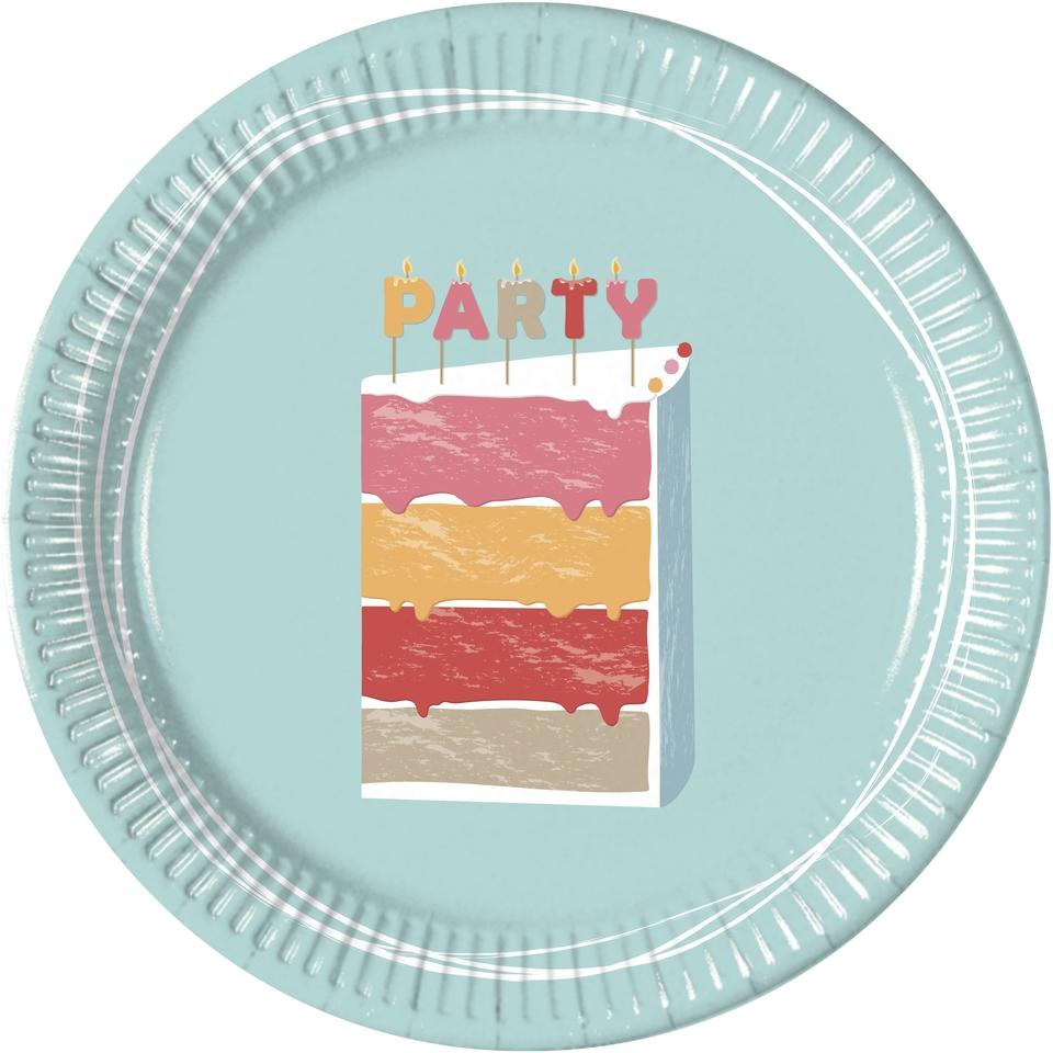 Taniere Narodeninová torta 23cm 8ks