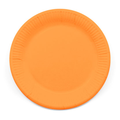 Taniere Párty oranžové 23cm 8ks