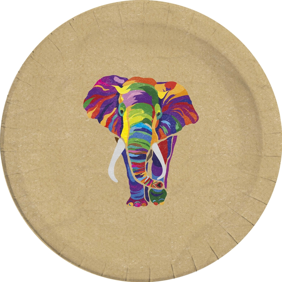 Taniere slon 23cm 8ks