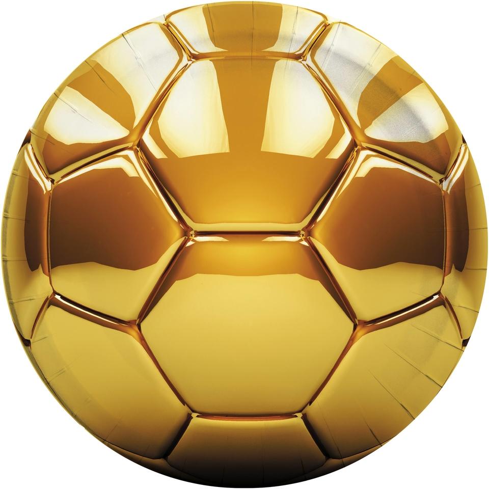 Tanier párty Football zlatý