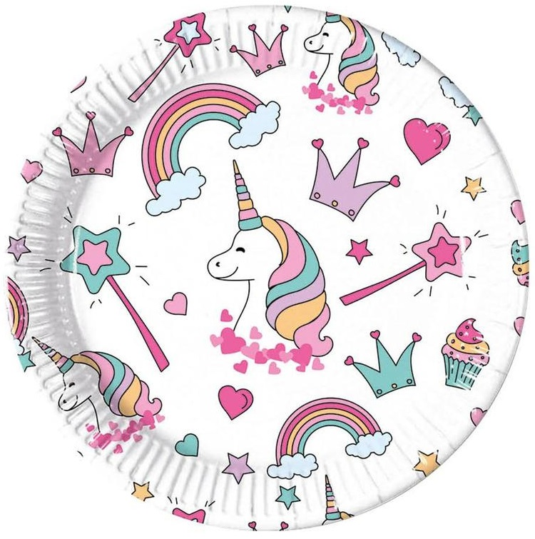 Tanier Párty Magic Unicorn 23cm 8ks