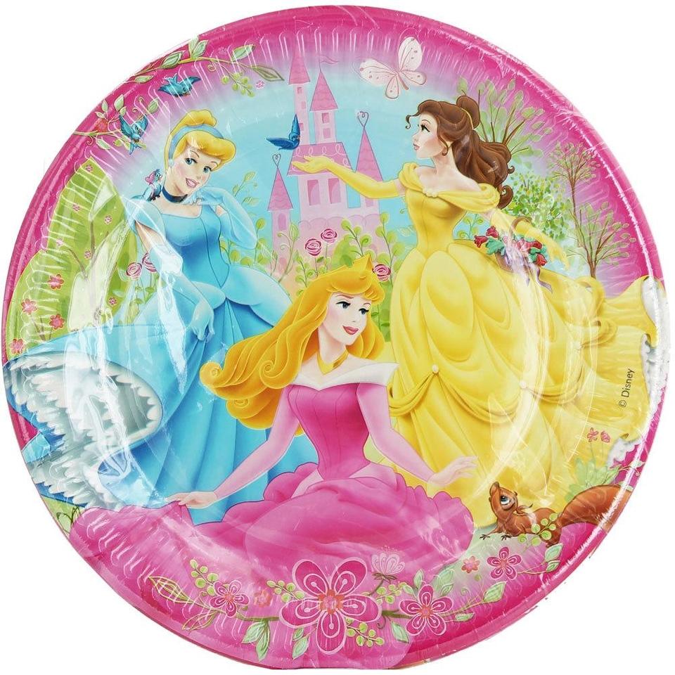 Taniere Disney princezné 23cm 10ks