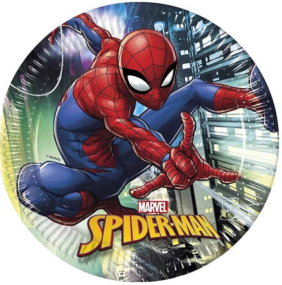 Tanier párty Spiderman