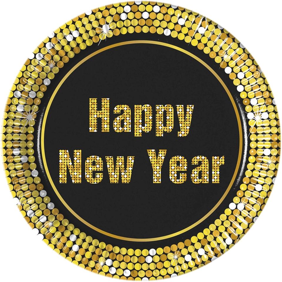 Tanier párty Štastný nový rok