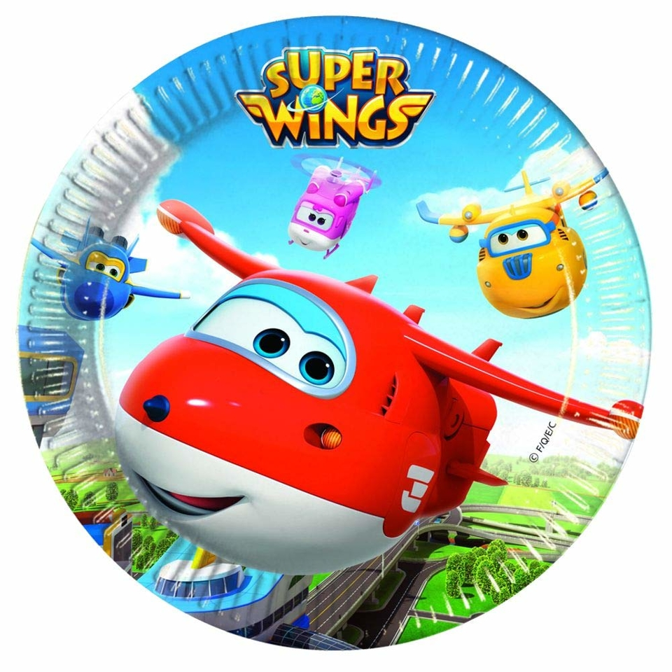 Taniere Super Wings 23cm 8ks