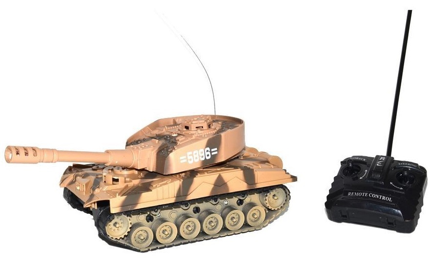 Tank Panzer RC 26cm - zelená