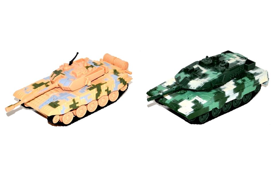 Tank kovový 13cm
