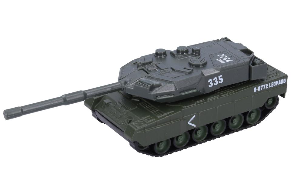 Tank kovový 14,5cm