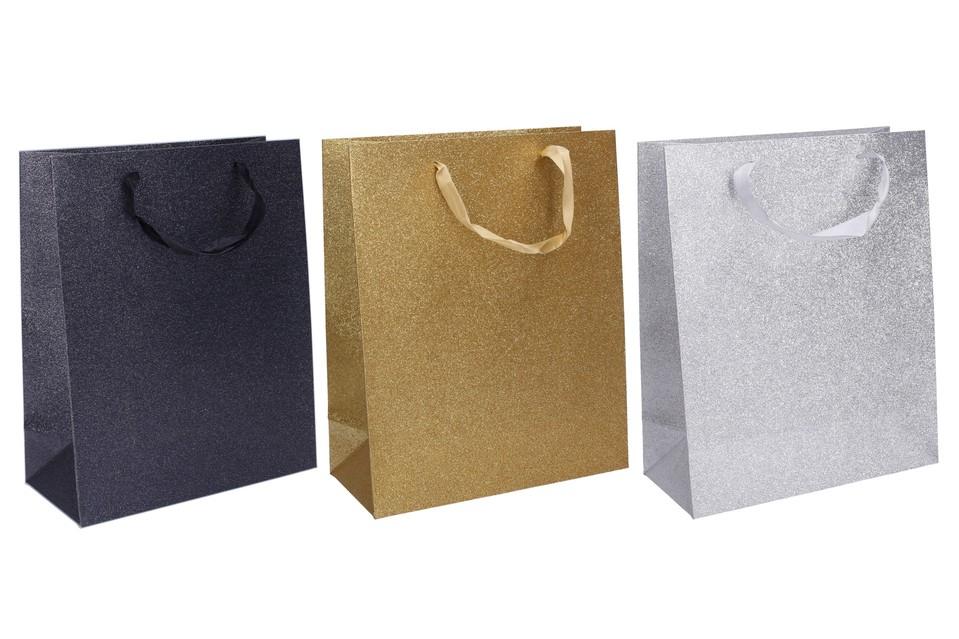 Darčeková taška 32x26x12cm - náhodná