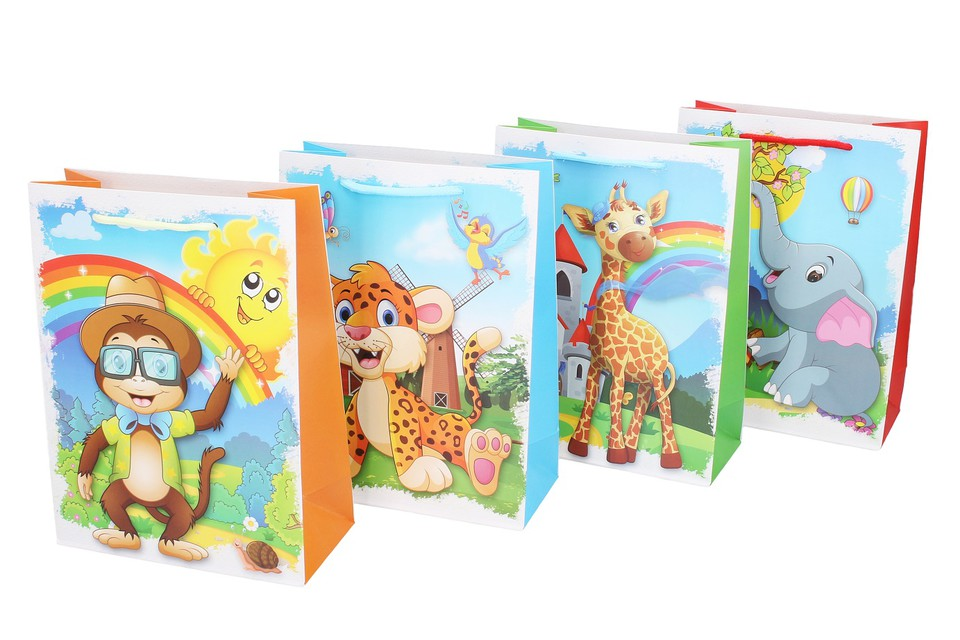 Darčeková taška detská 18x24x8,5cm