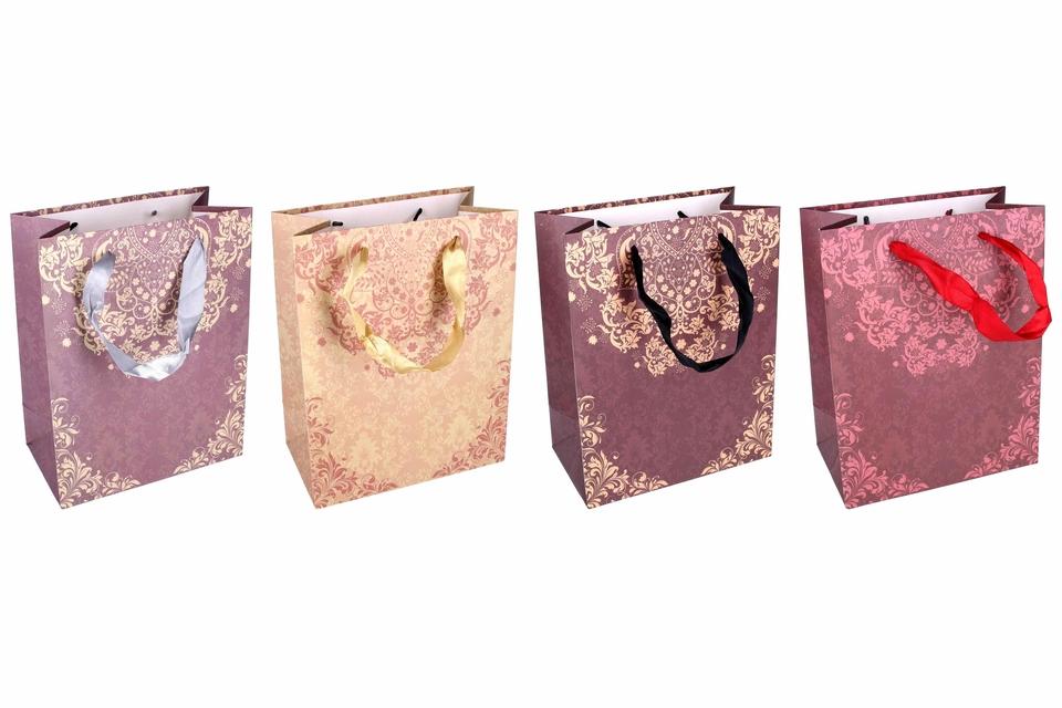 Darčeková taška ornamenty 23x10x18cm