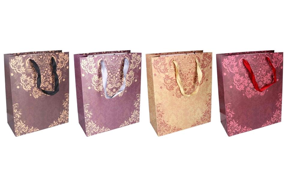 Darčeková taška ornamenty 26x12x32cm