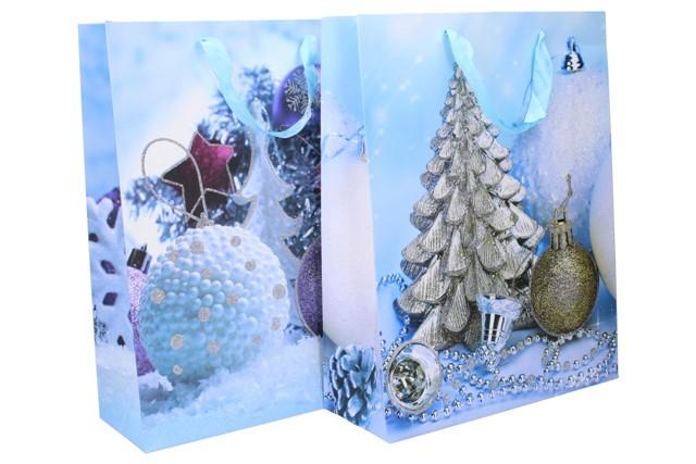 Vianočná darčeková taška 31x40x12cm