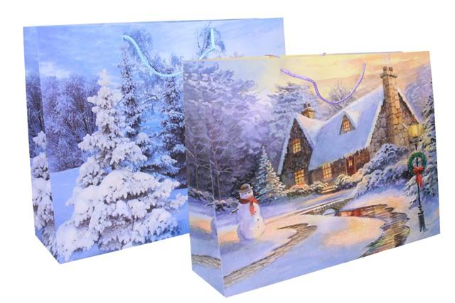 Vianočná darčeková taška 49x37,5x14cm