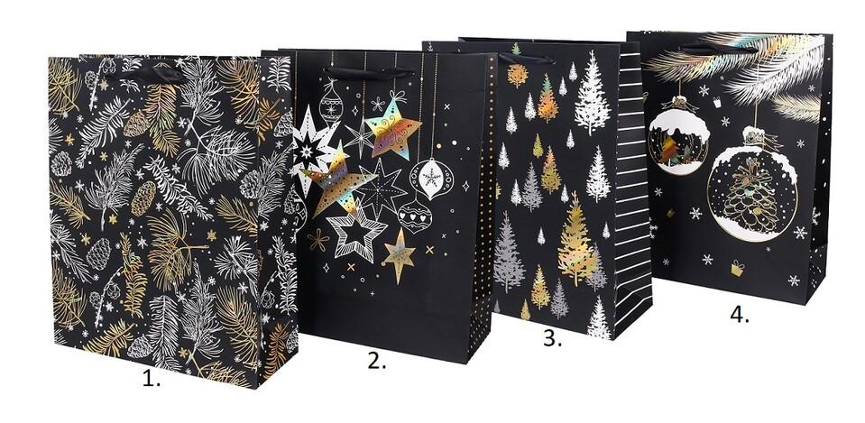 Darčeková vianočná taška 26x32x10cm