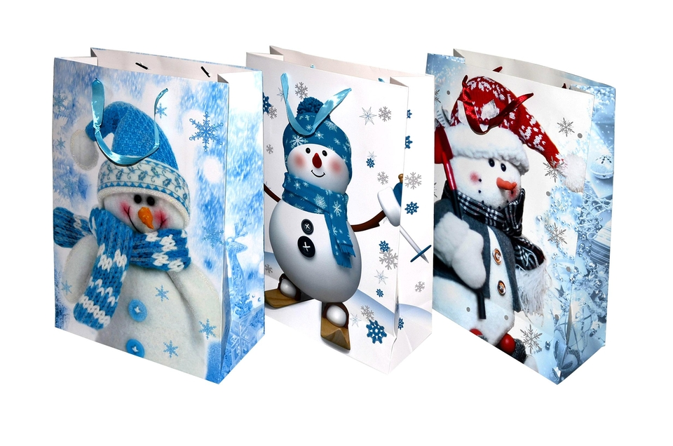 Darčeková taška Vianočná 43x30x12cm