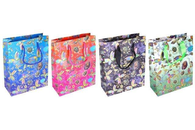 Darčeková taška Motýle 18x23x8cm