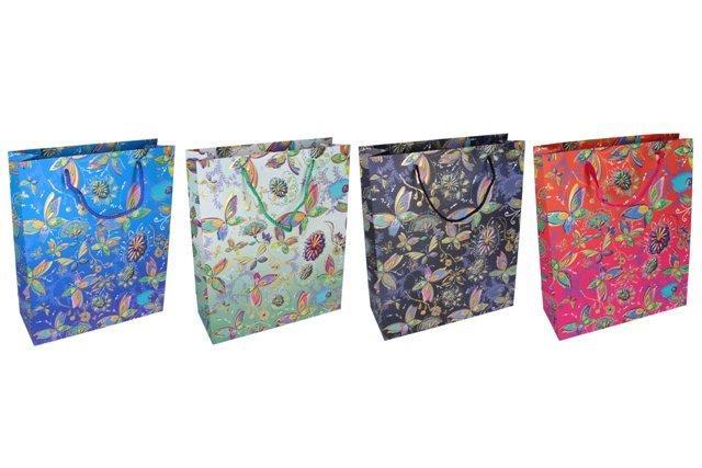 Darčeková taška Motýle 26x32x10cm