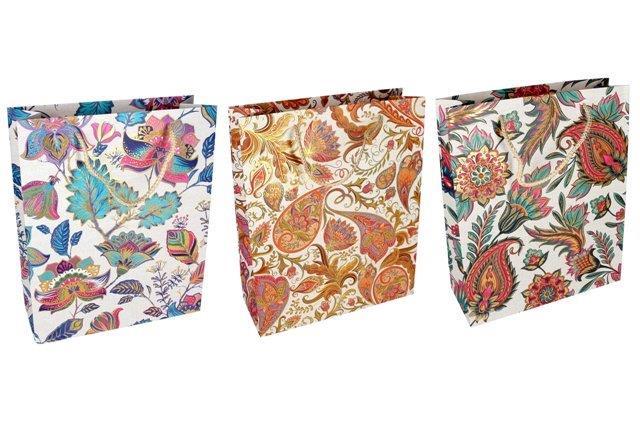 Darčeková taška Kvety 26x32x10cm