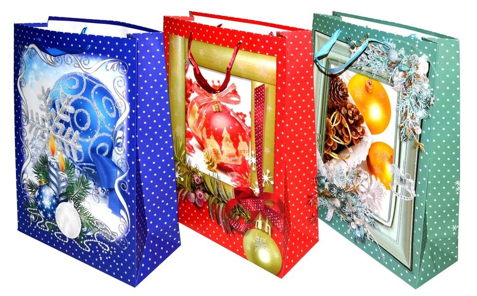 Vianočná darčeková taška 30x42x12cm