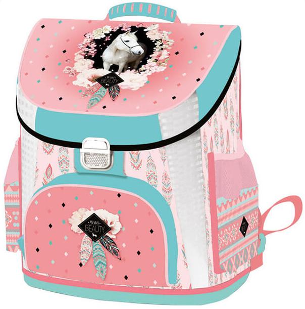 Anatomická školská taška Premium Wild Beauty