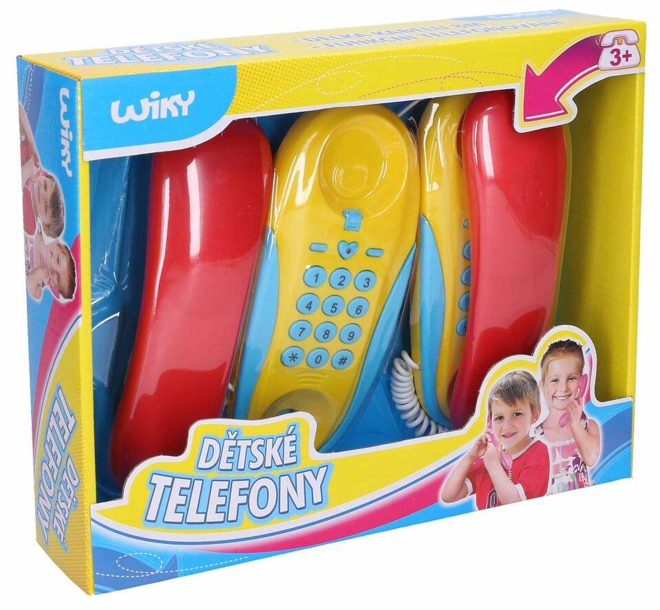 Detské telefóny na batérie 2ks
