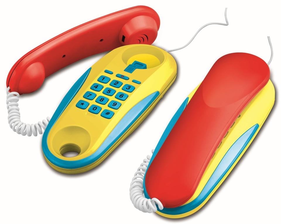 Telefóny šnúrové na batérie