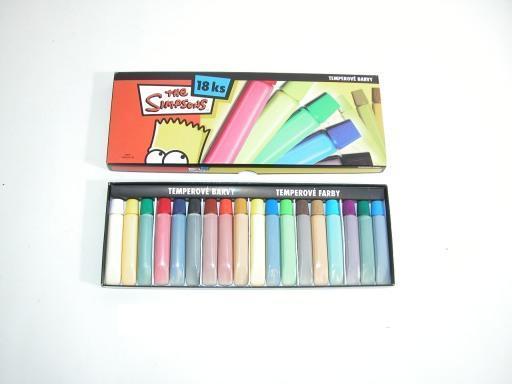 Temperové farby Simpsonovci 18KS