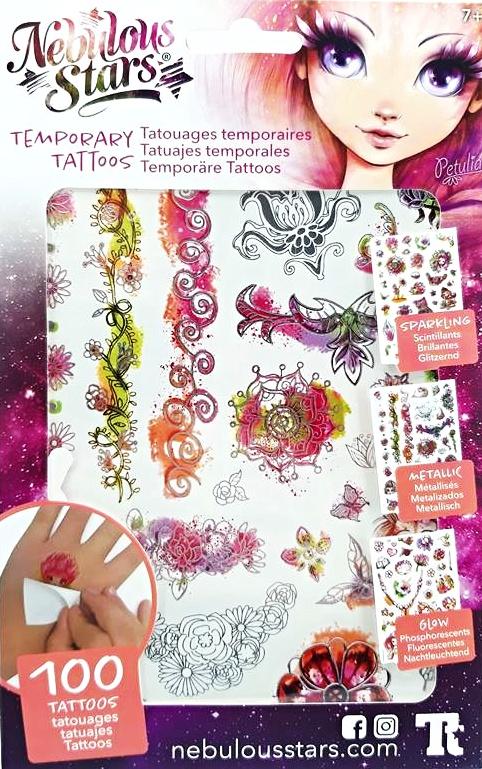 Nebulous Tetovanie 3 druhy