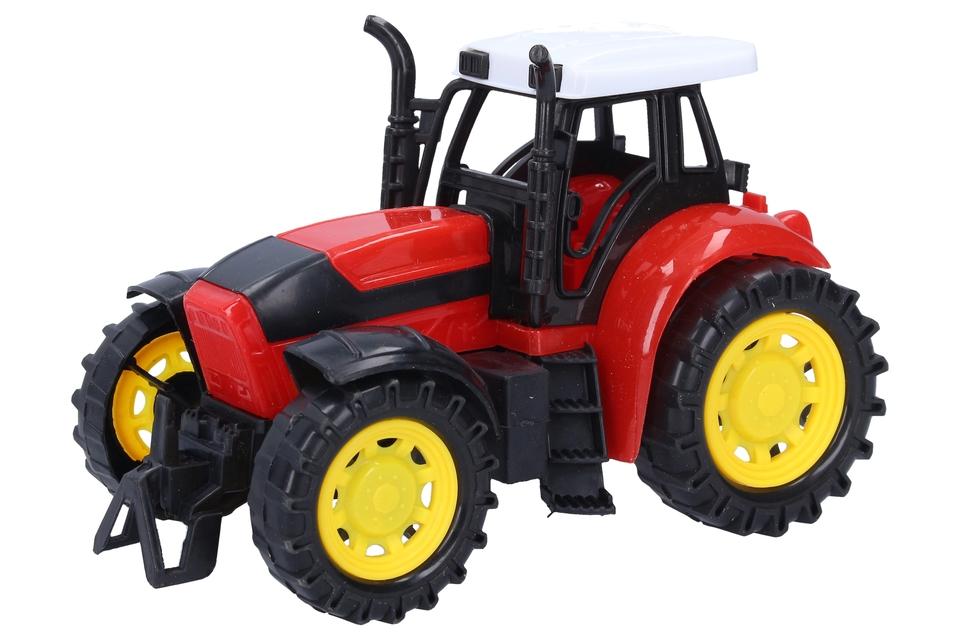 Traktor 18cm - zelená