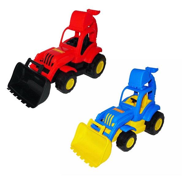 Traktor s nakladačom 34cm - náhodná
