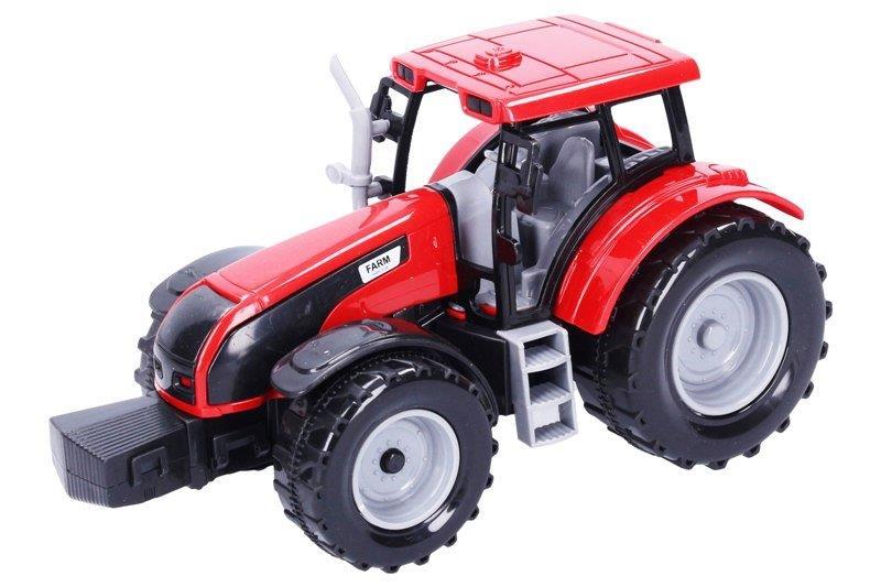 Traktor na zotrvačník 20cm