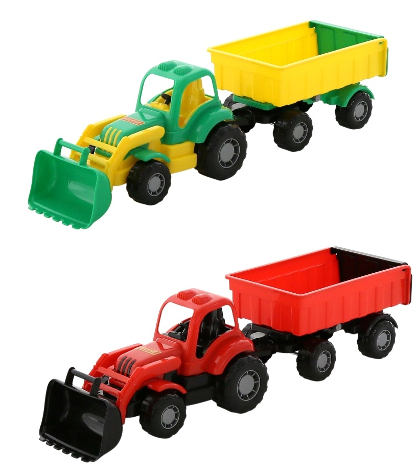 Traktor - NAKLADAČ S PRÍVESOM