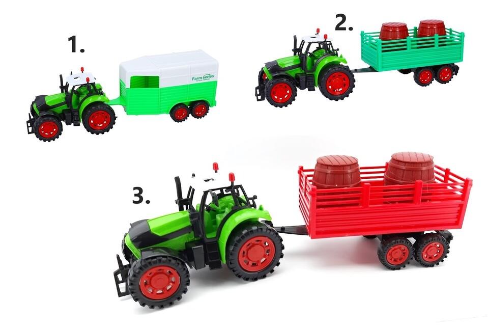 Traktor s vlečkou 35cm