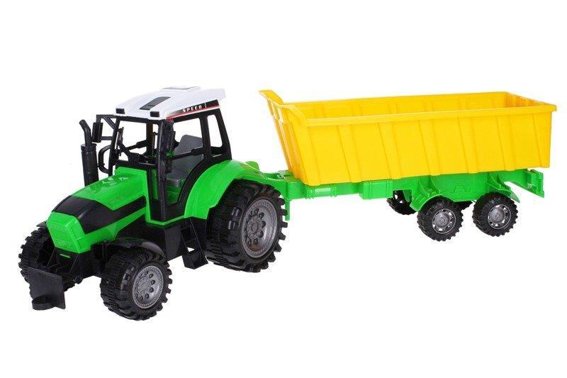 Traktor s vlečkou 53cm