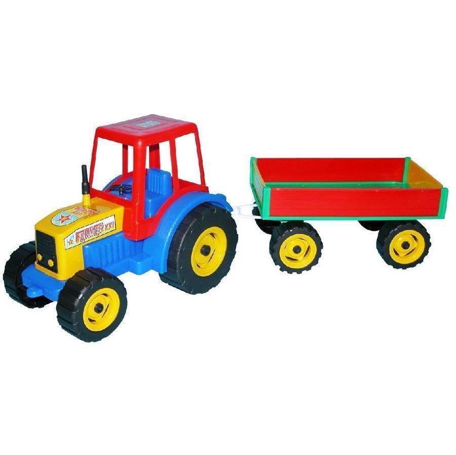 Traktor s vlečkou 65cm